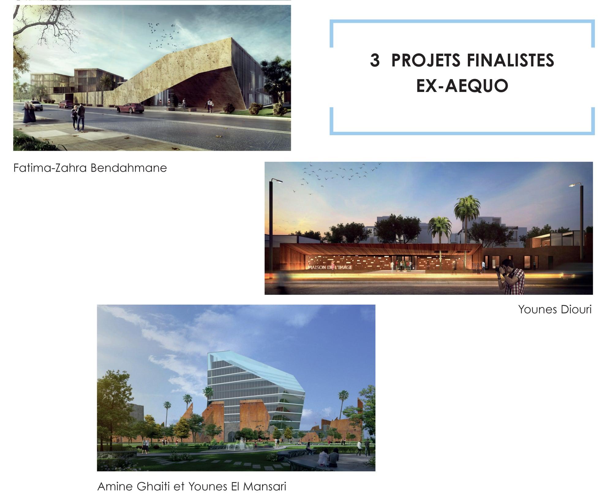 Le jury du concours de la MDI, MAISON DE L'IMAGE, ne tranche pas encore et sélectionne 3 finalistes ex-aequo